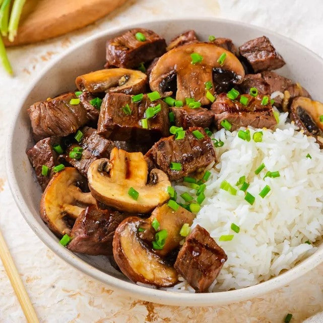 Teriyaki Steak Bowl
