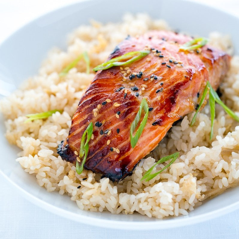 Miso Salmon - Low Carb