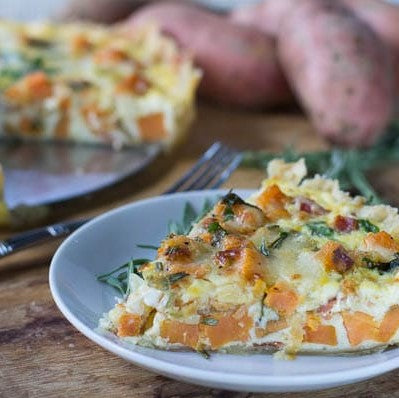 Sweet Potato & Sage Quiche