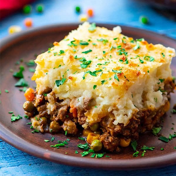 Cauliflower Shepard's Pie - Low Carb