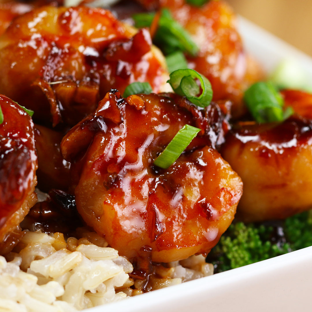Honey Garlic Shrimp - Low Carb