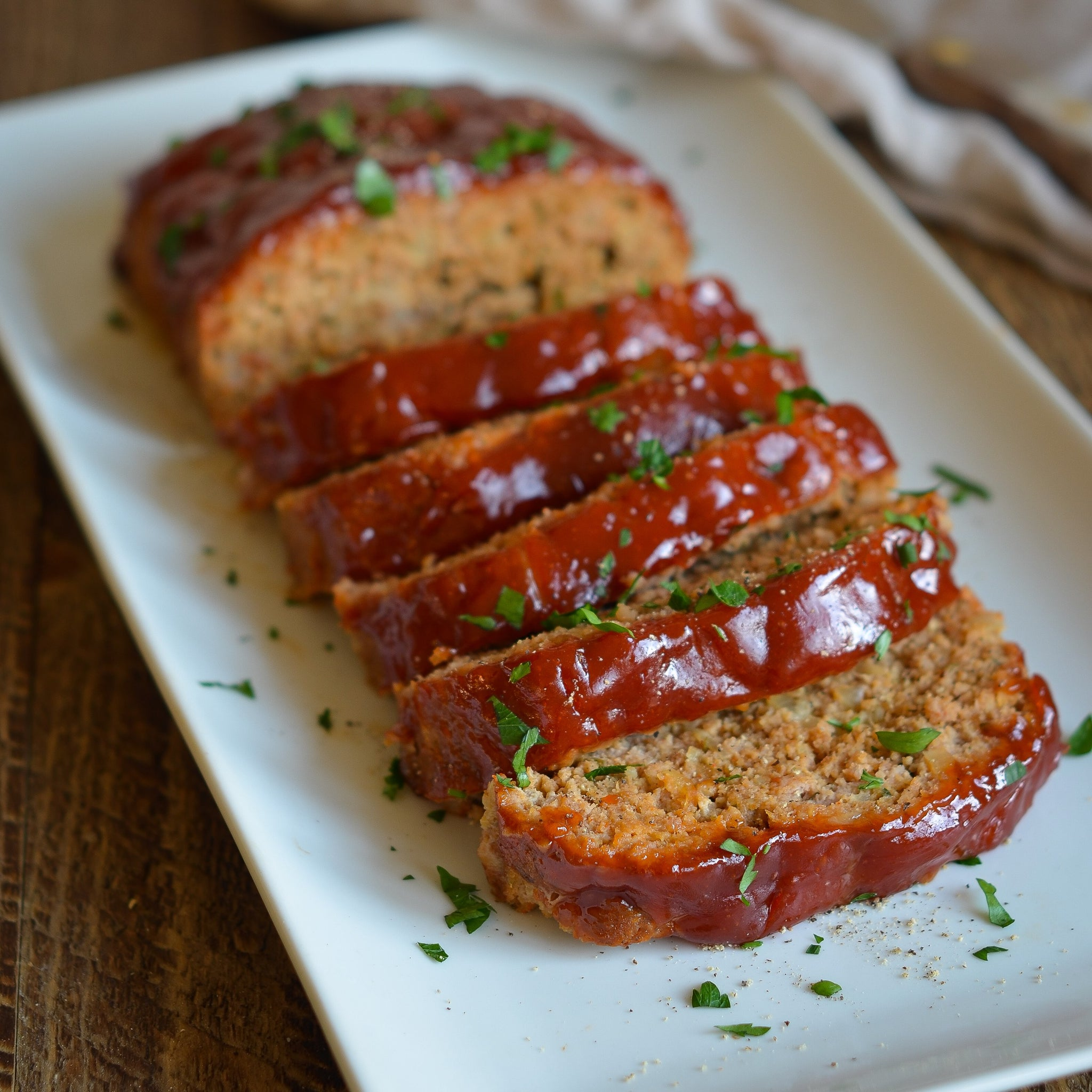 Family Style Meatloaf - Serves 2 - 4