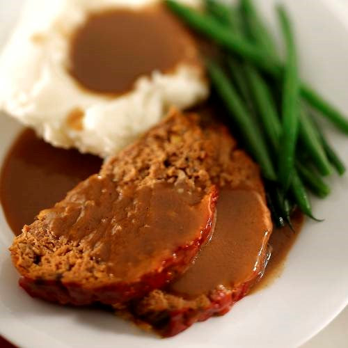 Turkey Meatloaf and Gravy