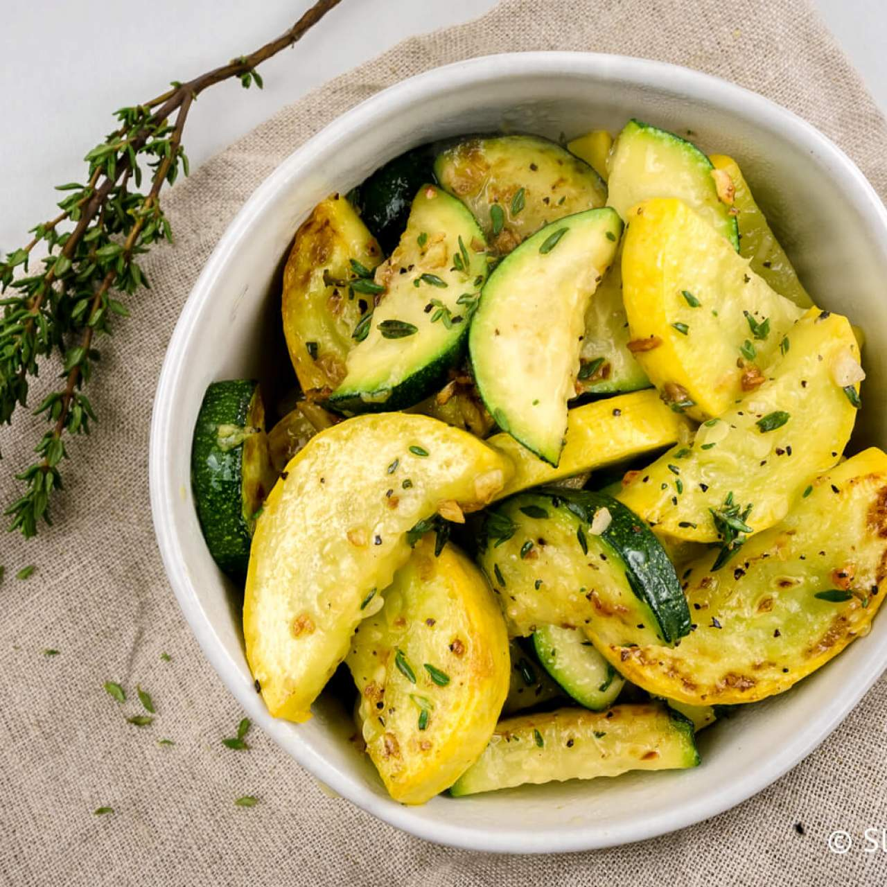 Family Style Zucchini - Serves 4