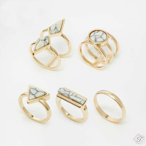 Simply Marbelous Rings