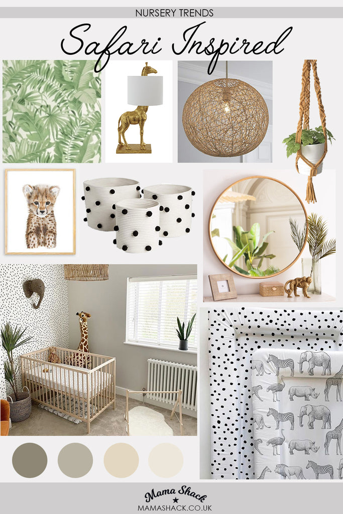 Nursery Trend || Safari Inspired