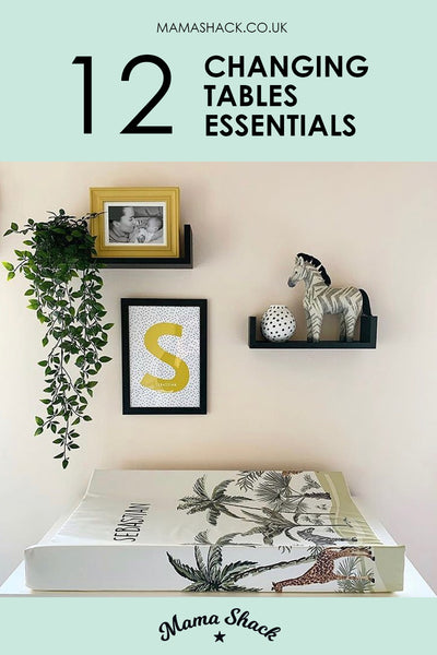 12 Changing table essentials