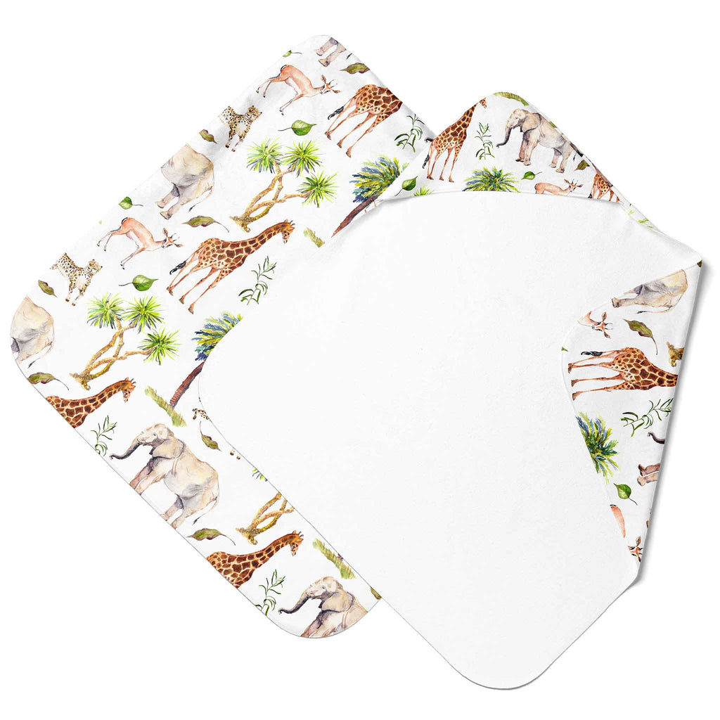 Muslin Hooded Towel - Wild Safari