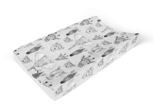 Anti Roll Changing Mat Jungle Print