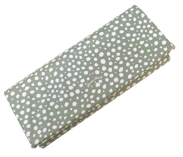 Travel Changing Mat Sage Spotty