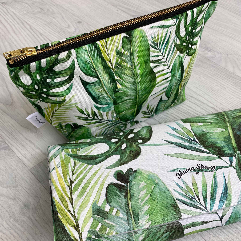 Changing Bag Pouch Banana Leaf