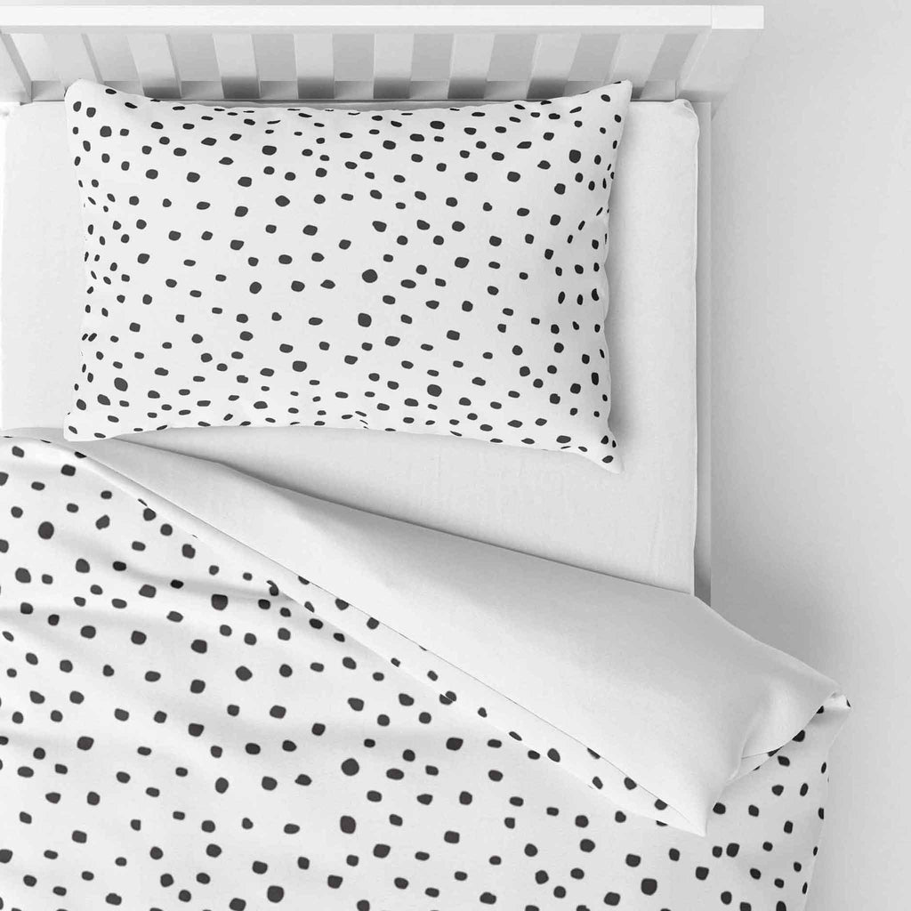 Dotty - Duvet Cover and Pillowcase Set - Cot Bed
