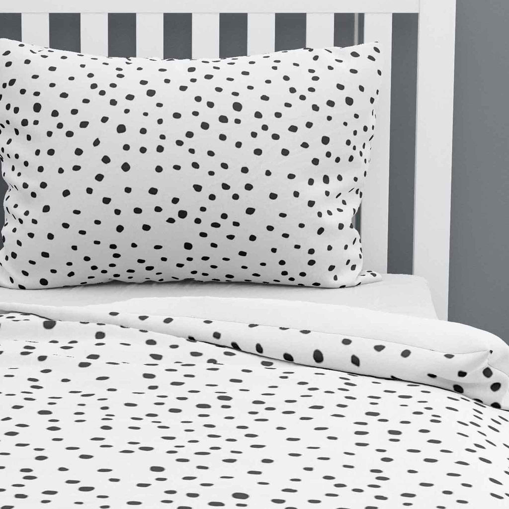 Dotty - Duvet Cover and Pillowcase Set - Single