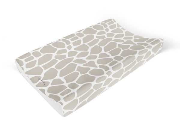 Giraffe Print Anti Roll Changing Mat