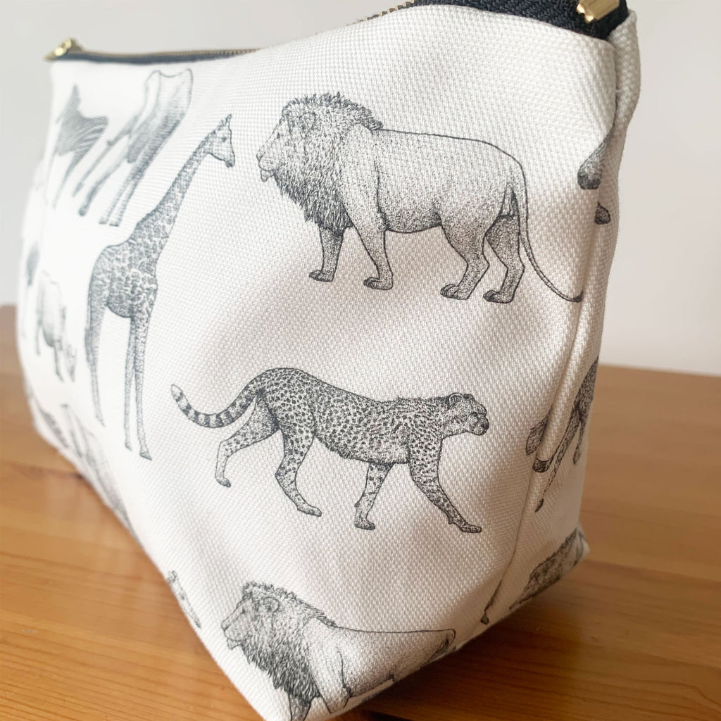 Animal Safari Changing Bag Pouch