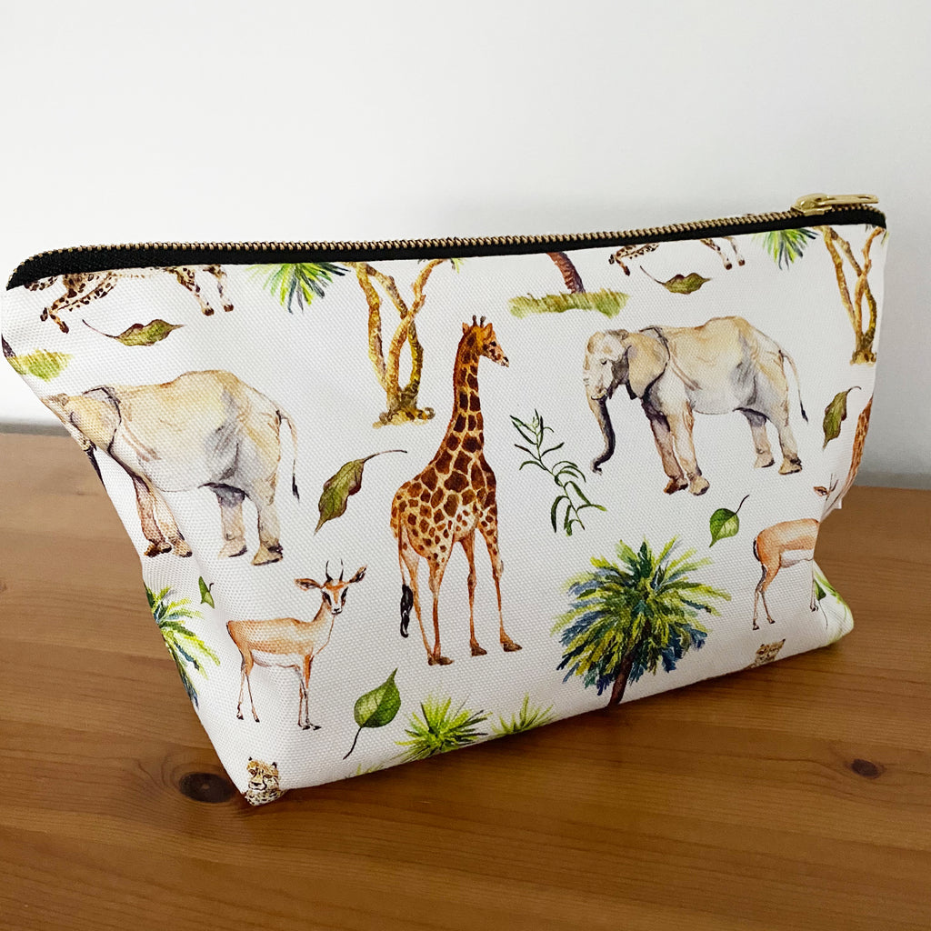 Wild Safari Changing Bag Pouch