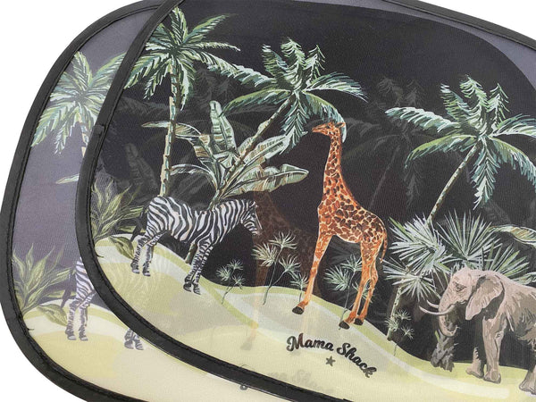 Large - Car Window Shades - Safari