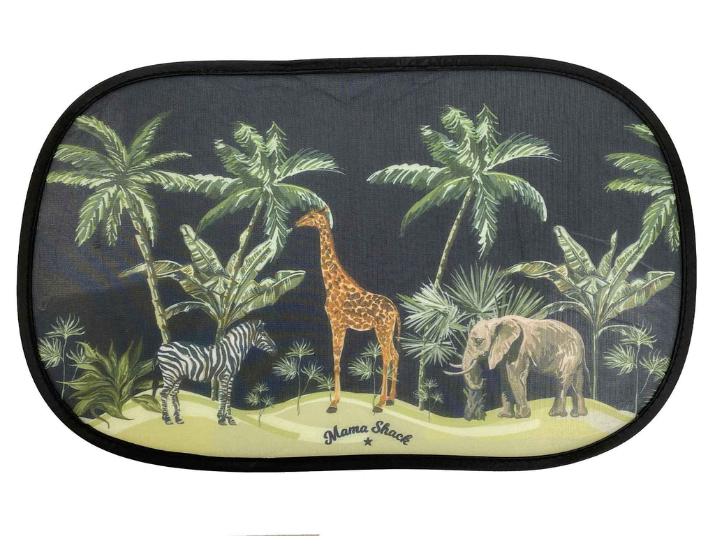Small - Car Window Shades - Safari