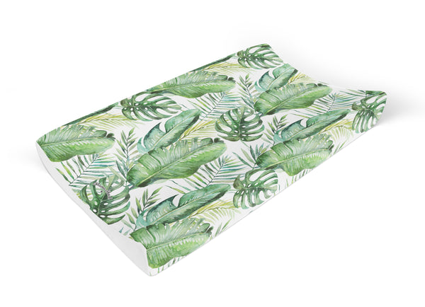 Banana Leaf Anti Roll Changing Mat