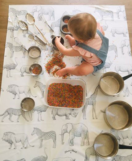 Safari Animals Splash Mat