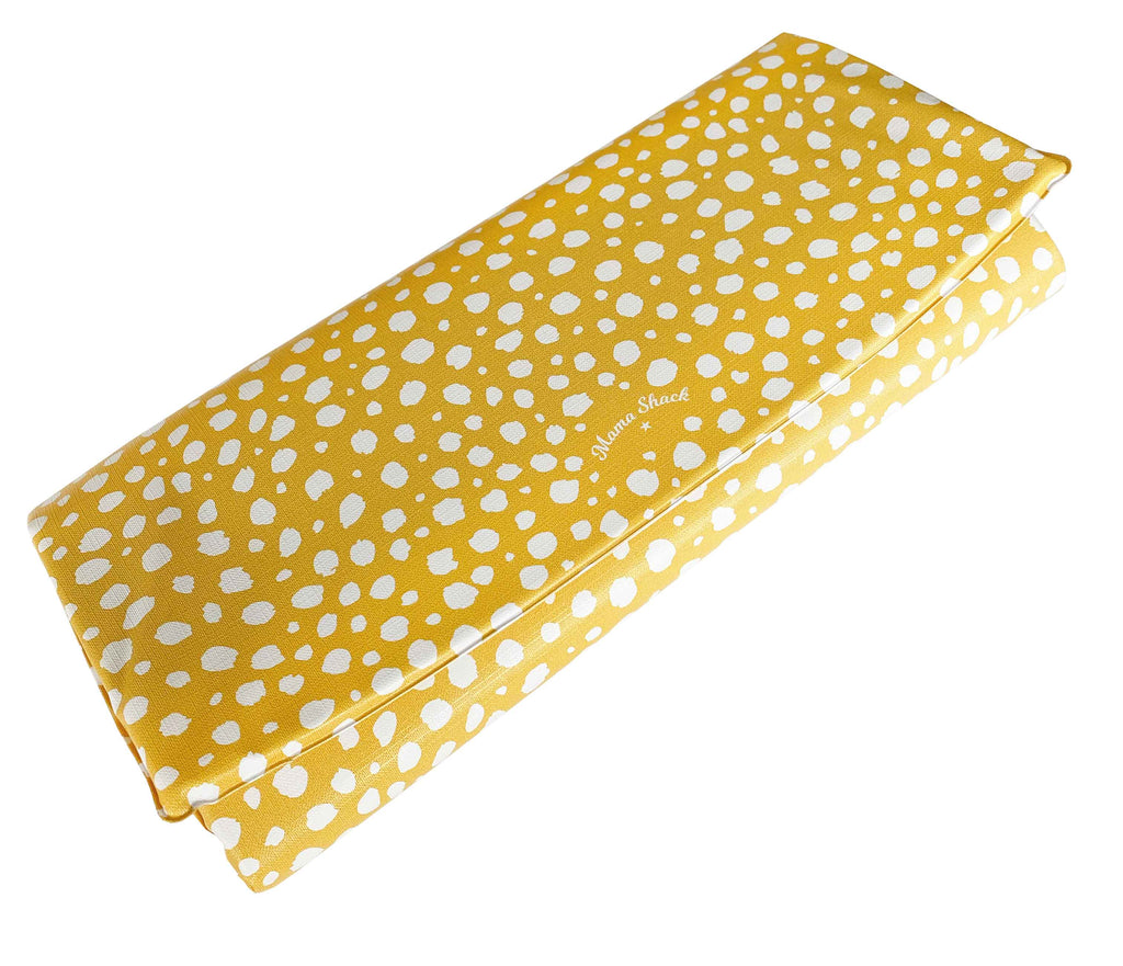 Travel Changing Mat Spotty Mustard