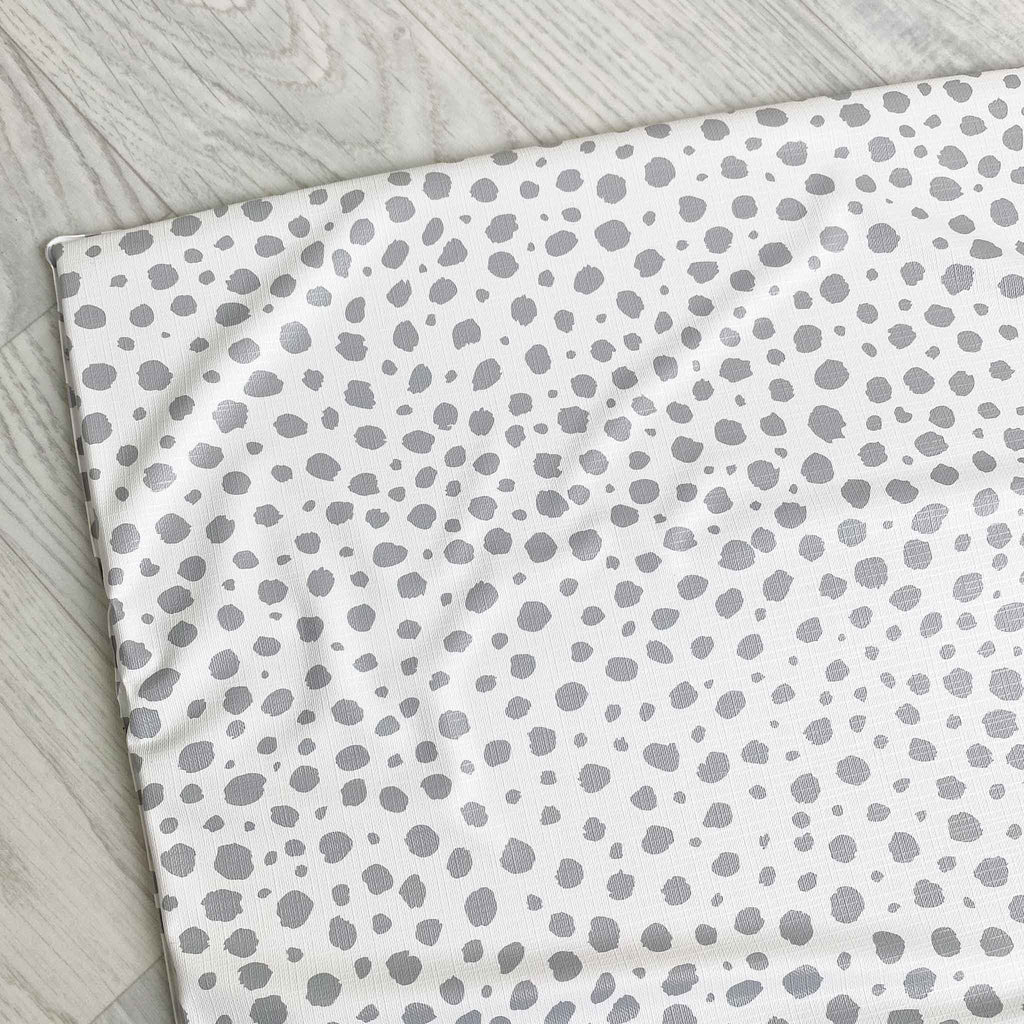 Travel Changing Mat Spotty Grey