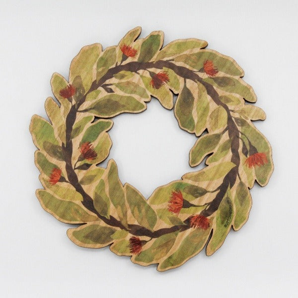 Buttonworks - Coloured Timber Trivet