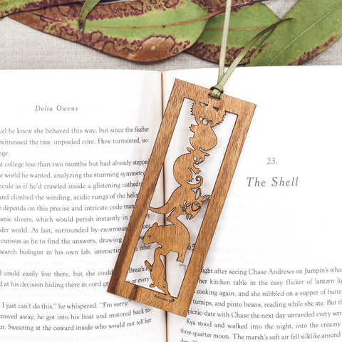 Buttonworks - Timber Bookmark