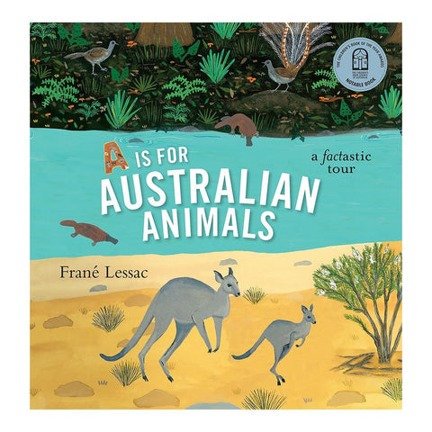 A is for Australian Animals - Frane Lessac