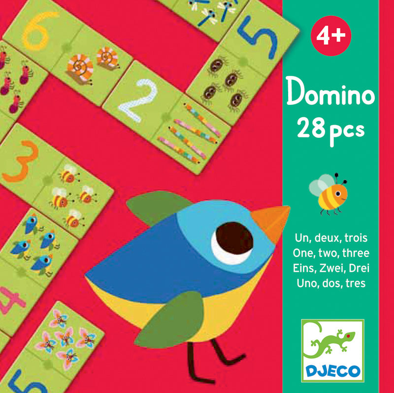 Djeco - 1, 2, 3 Dominoes