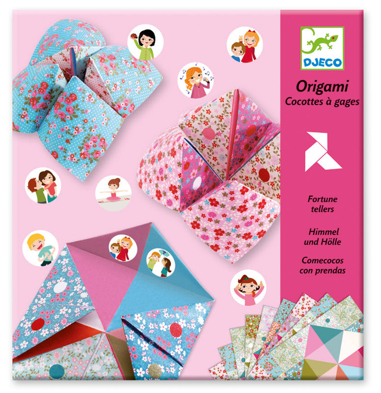 Djeco - Fortune Tellers Origami Kit
