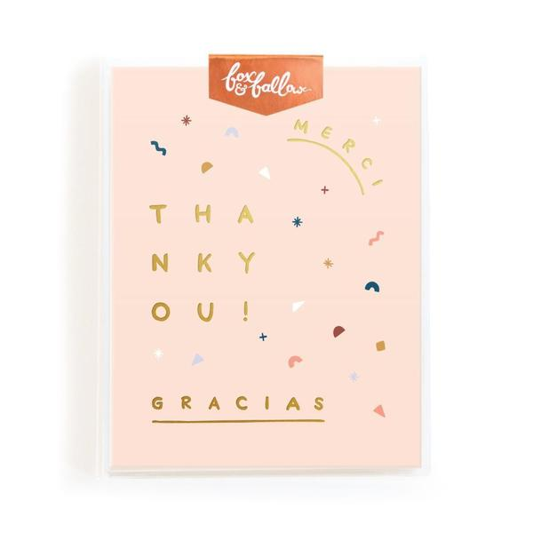 Fox & Fallow - Thank You Cards - Boxed Set of 8