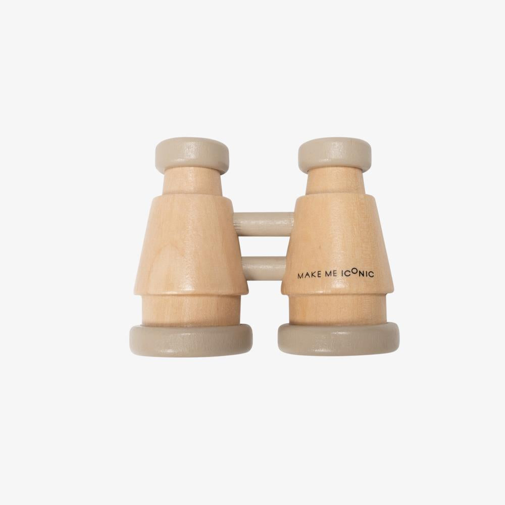 Make Me Iconic - Wooden Binoculars