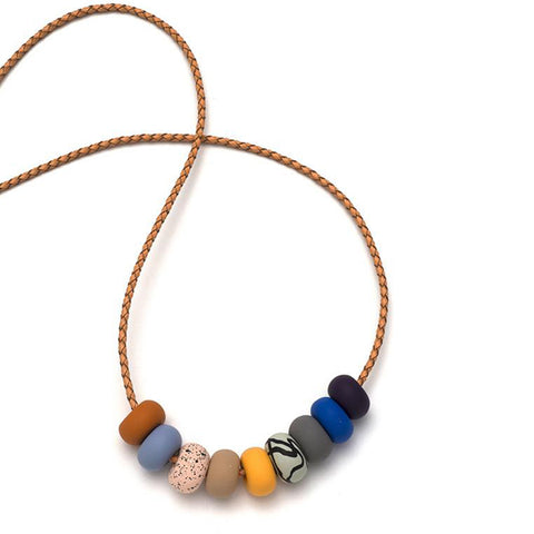 Emily Green - 9 Bead Necklace