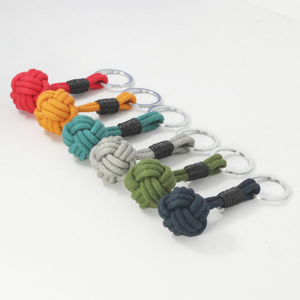 Crayon Chick - Nautical Knot Keyring