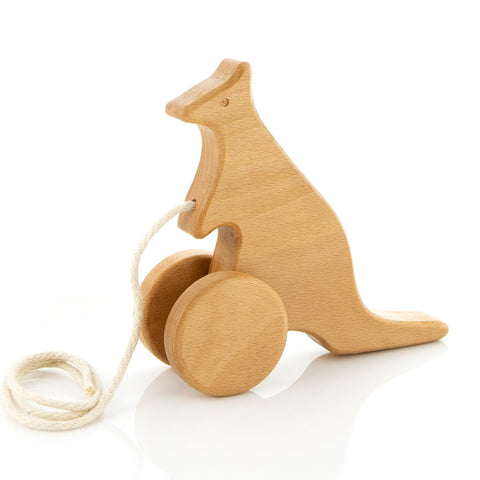 Milton Ashby - Hopping Kangaroo Pull Toy