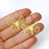 Pixie Nut & Co - Brass Earrings