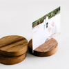 In The Daylight - Timber Photo Stand - Circle