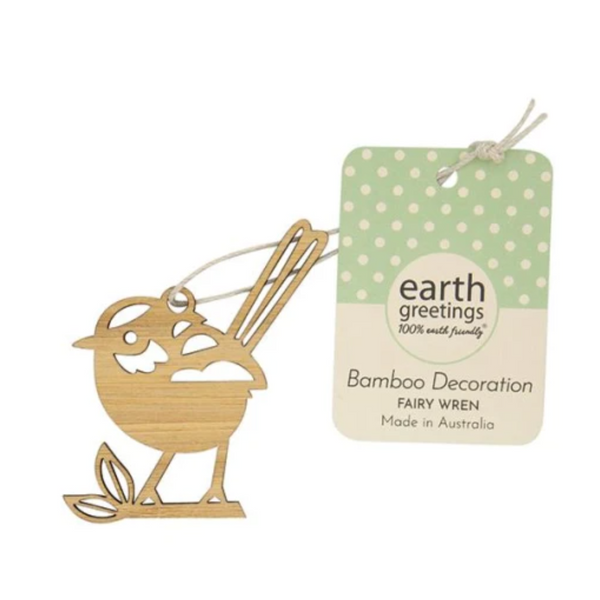 Earth Greetings - Mini Bamboo Decoration