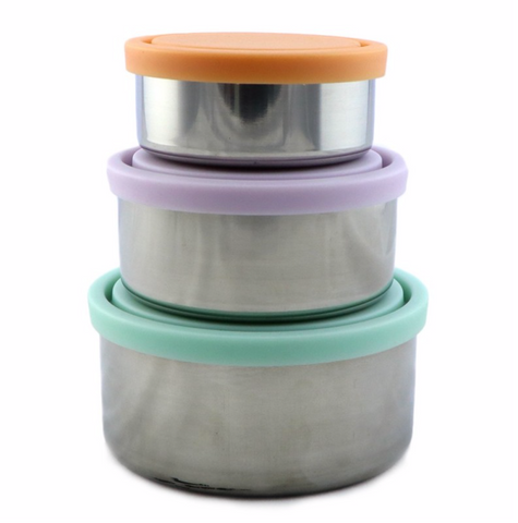 Ever Eco - Stainless Steel Nesting Containers - Set of 3