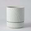 Angus & Celeste - Abstract Relief Plant Pot - Brush Line Thin
