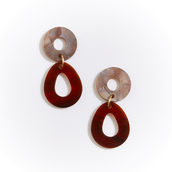 Martha Jean - Camellia Earrings