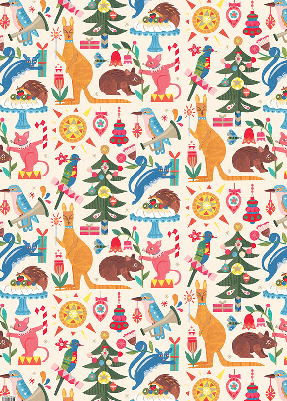 Andrea Smith - Christmas Wrapping Paper (Folded)