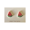 Paper Boat Press - Ceramic Stud Earrings