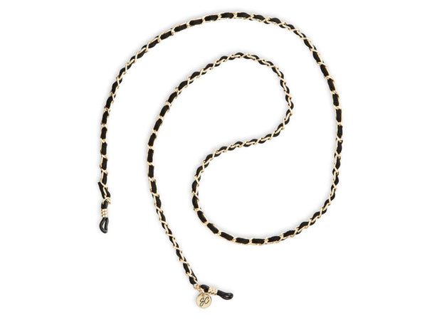 Sunny Cords - Classy C - Golden Chain with Black Suede