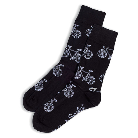 Otto & Spike - Bikes Socks - Black
