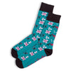 Otto & Spike - Cherry Bomb Socks - Blue