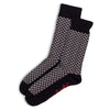 Otto & Spike - Double Negative Socks - Black