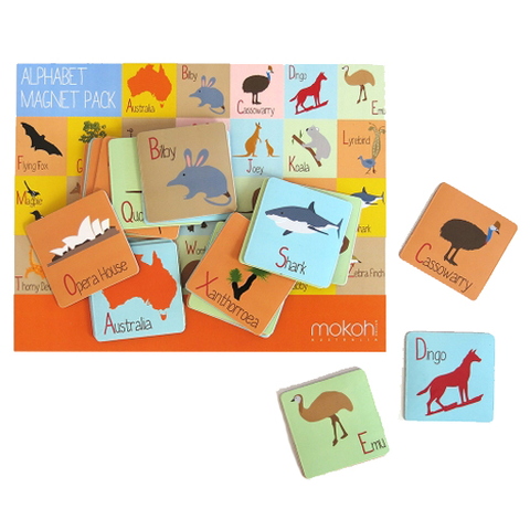 Mokoh - Australian Alphabet Magnets