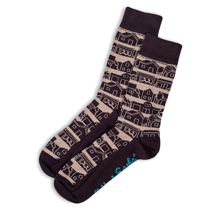 Otto & Spike - Neighbourhood Socks - Grey